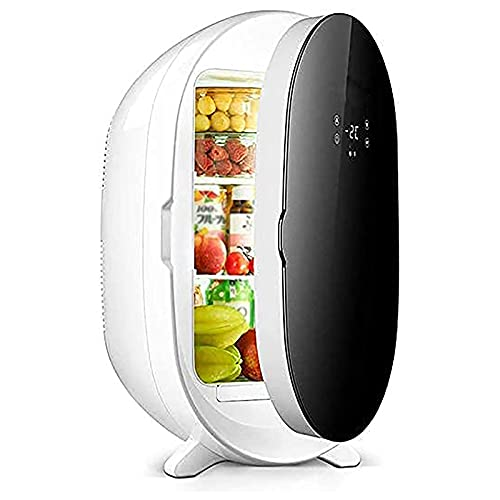 NMSLA Refrigerador De 20L Compacto con Control De Temperatura Digital Mini Barra Congelador Portátil Fridge Fridge Fridge para Dormitorio Home Travel Office Dorm App Apartamento Al Aire Libre