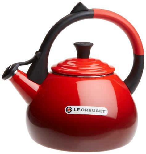 Le Creuset Enameled Steel 1.6 Quart Oolong Tea Kettle,...