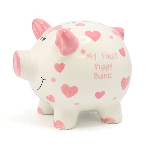 Lesser & Pavey My First Piggy Bank - Hucha (15 cm), Color Rosa