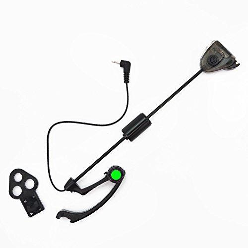 Hirisi Tackle® Karpfenangeln Swinger beleuchtet Bite Indikatoren, grün