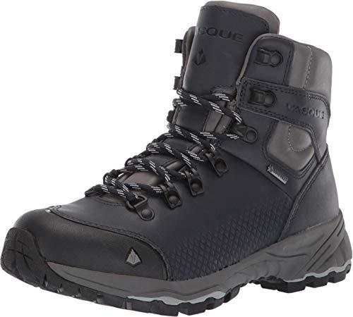 Vasque Women's St. Elias FG GTX Full-Grain Leather Gore-Tex Waterproof Hiking Boot, Blue Steel, 6