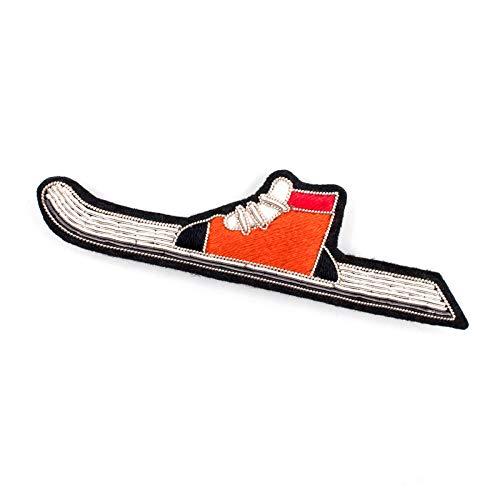 ZHENZHIA Brosche Handgefertigte hochwertige weibliche Abzeichen Pin Schal Schnalle Zubehör