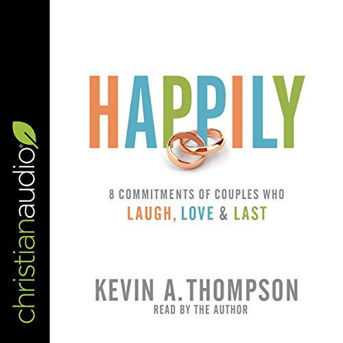Happily audiobook cover art