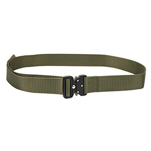 banapoy Cinturón multifunción, cinturón táctico, Camping Transpirable y de Secado rápido para montañismo Viajando al Aire Libre(Green)