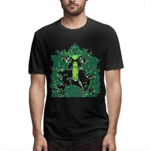 Camiseta deportiva para hombre Ri-Ck Mor-Ty de manga corta para correr algodón