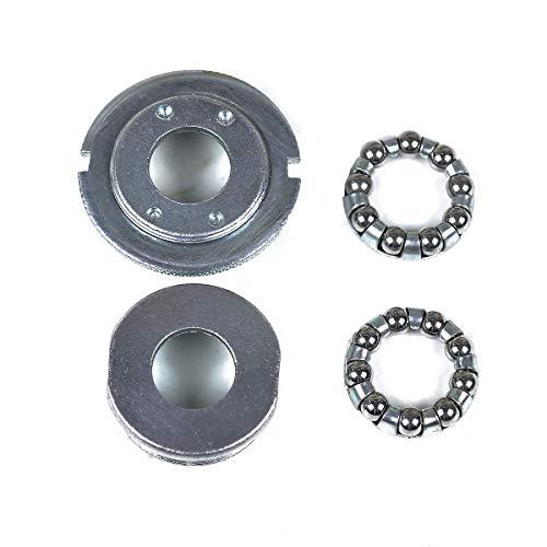 """OldNewBikes Cazoletas y rodamientos de pedalier Tipo Phillips de diámetro 34,8mm (1,37"""") y 24 TPI para Bicicleta clásica/Retro/Vintage"""