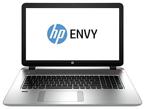 Hewlett Packard K1H57EA#ABD Envy 17-k104ng 43,9 cm (17,3 Zoll) Laptop-PC (Intel Core i7 4510U, 2GHz, 16GB RAM, 1TB HDD, NVIDIA GeForce GTX 850M, Win 8) silber