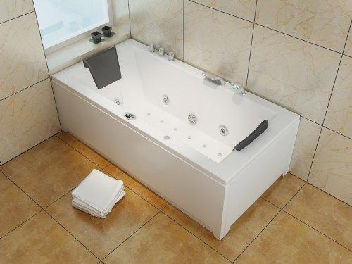 Luxus Whirlpool Badewanne 182×90 im Vollausstattung (Massage) – Sonderaktion - 2