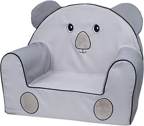 Bubaba FreeON Kindersessel | viele Motiven | EU Produkt | formstabiler Schaumstoff | extra leicht nur 1kg, Model:Koala. Embroidery
