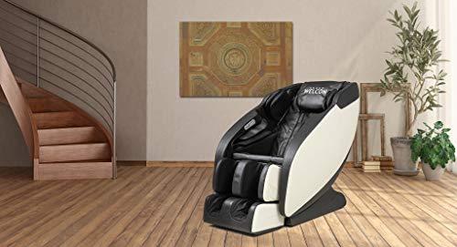 Massagesessel WELCON Prestige II - 5-Sterne-Premium Massagesessel mit Zero Gravity, Wärmefunktion und 6 Automatikprogrammen