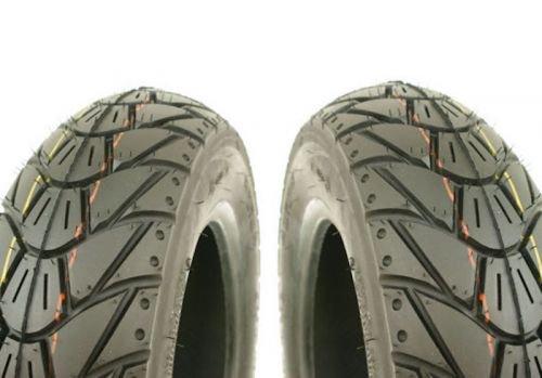 2x Winter Reifen KENDA K415 3.50-10 56L M&S TL für Roller/Scooter