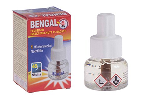 Bengal® Nachfüller für Elektro Mückenstecker Mückenschutz Stechmücken Schutz