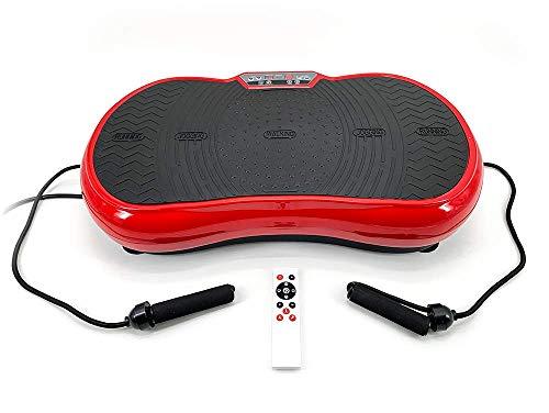 ZEN SHAPER MINI Plataforma Fitness ultradelgada vibratoria (modelo 2021) - Acondicionamiento corporal estético – Altavoces y música por Bluetooth - Elimine grasa, restaure la elasticidad muscular