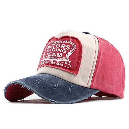 WYX Unisex Baseballmütze Hysteresen-Kappen Für Frauen Männer Hip Hop Cap Sport Mütze Lässige Freilauf Cap Baseball-Mütze,g