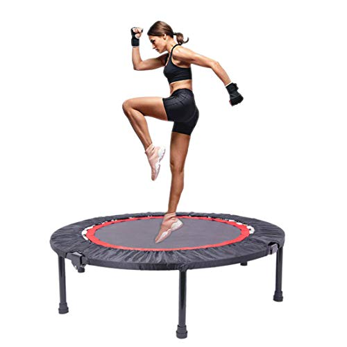 NICESOUL Kids Trampoline Heavy Duty with Handrail and Safety...