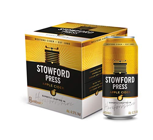 Westons Stowford Press, 24 Pack (440 ml x 6, Pack of 4)