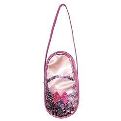 Horizon Dance 3403 Satin and Sequins Ballet Slipper Bag