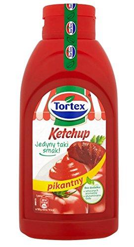 Tortex Ketchup - pikant 470g