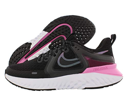 Nike Legend React 2 Womens Shoes Size 6, Color: Black/Cool Grey/Psychic Pink