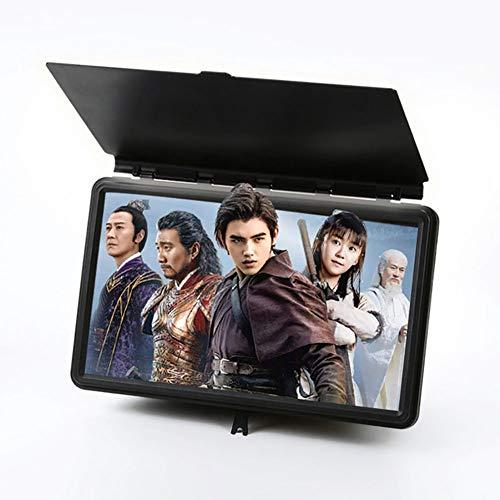 Macabolo 12 inch 3D telefoon scherm versterker telefoon beeldscherm vergrootglas HD video versterker telescopische houder 12 zoll CE0277414_BK-1356-1428128651