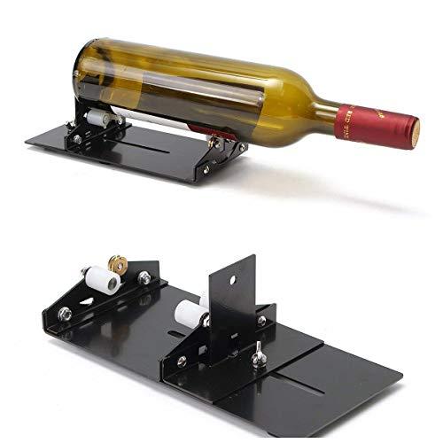 Borlai Glasflaschenschneider Home Wein Bier Glasschneider DIY Glasflasche Schneidwerkzeug