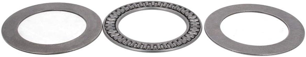 Othmro Needle Roller Bearing 35mmX52mmX4mm Single Row Bearing AXK3552+2AS 1pcs