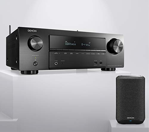 Denon AVR-X1600H 7.2 Kanal AV Receiver + Denon Home 150 Multiroom...