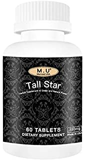 Tall Star - Top Star-Grow Taller Magic Height Growth Support for Women and Men Teenagers Kids - Premium Calcium Contained-...