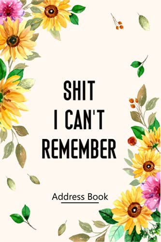 Address Book: Large Print Address Book with Alphabetical Tabs, More than 600 Entry Spaces, Funny Organizer to Name, Address, Phone, Birthday, Note - Beauty Watercolor Flower Design Book