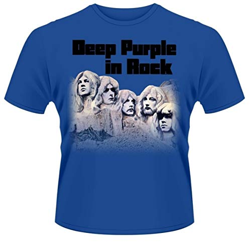 Deep Purple In Rock Shirt S-3Xl Blue T-Shirt Band tee