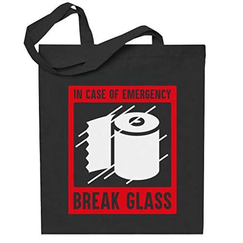 Cloud City 7 In Case Of Emergency Break Glass For Loo Roll Totebag