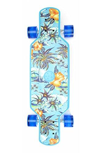 Maui And Sons Freeride Skateboard Unisex Kinder, Island Oasis