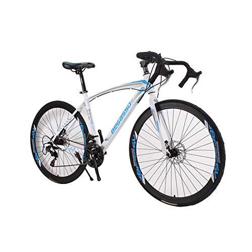 HUINI HOME Bicicleta de Carretera 700C 21-Velocidad Bicicleta Circuito de Bicicleta con Cuadro de...