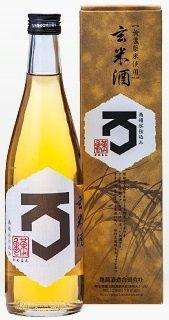 【無農薬米使用】 亀萬 玄米酒 500ml 【化粧箱入り】