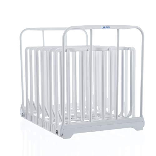 LIPAVI N15 Sous Vide Rack - Adjustable, Collapsible, Ensures