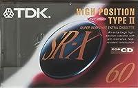 TDK カセットテープ SR-X 60分 ハイパワー ハイポジ SR-X60R