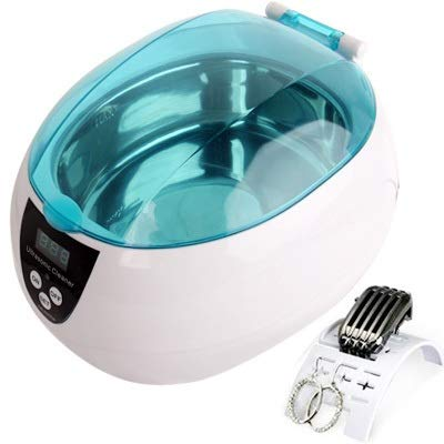 SALON schoonmaken van de keuken JTBBCP roestvrij stalen tank Digitale ultrasone reiniger met LCD-scherm for sieraden/Watch/Gebit