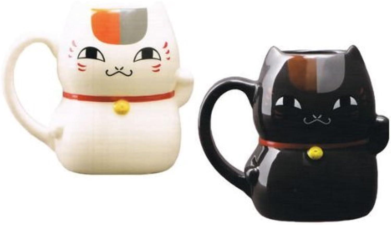Natsume's Book of Friends Nyanko Sensei type beckoning cat mug set of 2 (japan import)