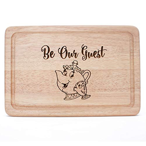 Be Our Guest Housewarming Christmas Chopping Board Gift