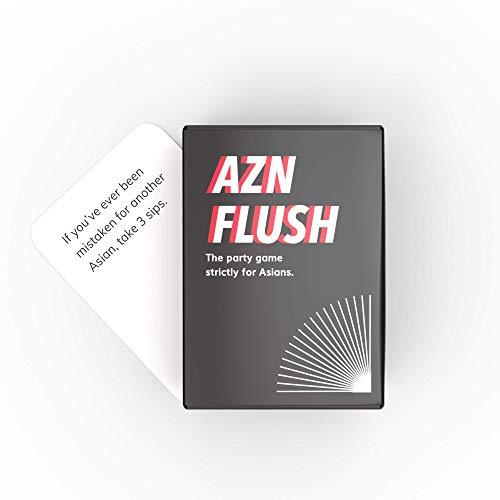 AZN FLUSH Game: The OG Pack - Relatable Funny Card Game for Asian Americans