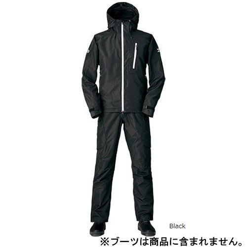 ダイワ レインマックス ハイロフト ウィンタースーツ DW-3105 ブラック XL