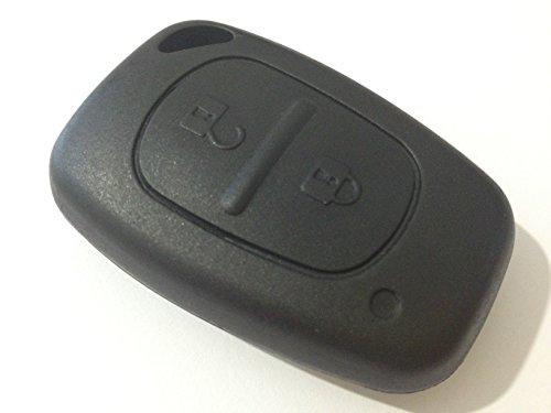 Schlüsselgehäuse Gehäuse Schlüssel Fernbedienung 2 Tasten Neu Ersatz Tastenfeld Rubber Pad