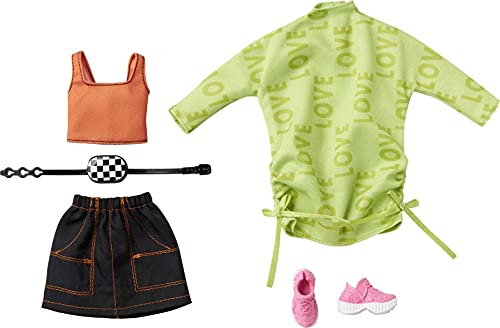 Barbie Amor | 2 Moda Set Mattel GRC92 | Ropa de la Muñeca