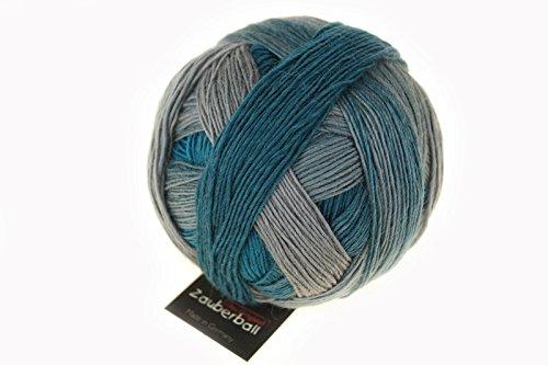 Schoppel Wolle Zauberball 2263 Monochrom - 100g Wolle nicht nur zum Socken stricken
