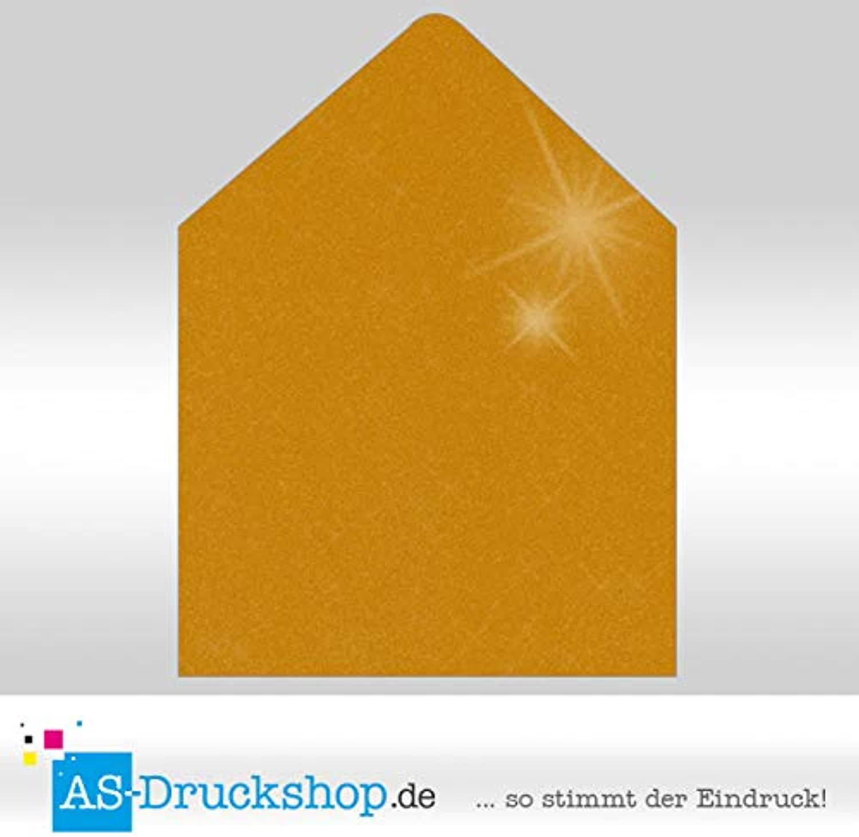 Briefumschlag KuGrün - Gold metallic - mit mit mit Seidenfutter Quadrat - 164 x 164 mm   50 Stück B0794WBP6D | Neuartiges Design  63e8dd