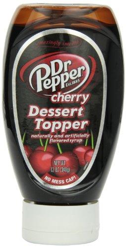 Dr Pepper Snapple Group Dr Pepper Cherry Dessert Topper, 14-ounces (Pack of 6)