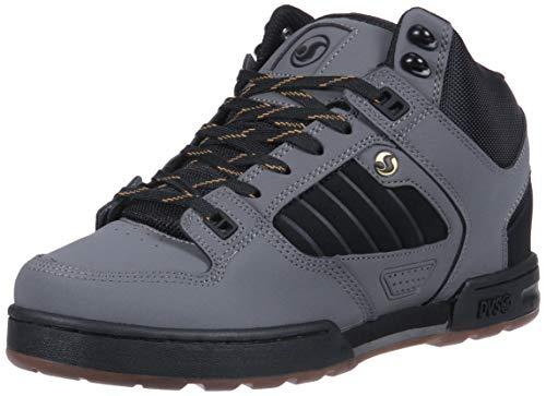 DVS Eero Ettala Stiefel Militia - Signature Series Grau Schwarz Gold Leather (47 EU / 12 Us, Grau)