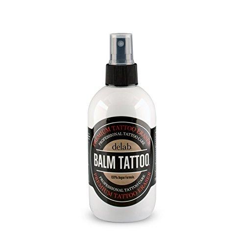 BALM TATTOO | Tattoo Stencil Remover | Zur sanften Entfernung falsch angebrachter Stencils auf der Haut (Stencil Remover 250 ml)