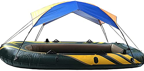Ghongrm Barco Inflable Accesorios de Kayak Pesca Sun Sun Shade Lluvia Tabla Kayak Kit Kayak Tarjeta de velero Tapa Superior 4 Personas Shelter, 4People (Size : 4people)