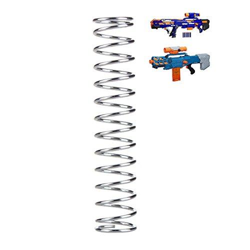 BOROK 18KG Upgrade Spring Feder Tuningfeder für Nerf Langschuss Zombie Strike Zed Squad CS-12/Nerf N-Strike Elite Longshot CS-6